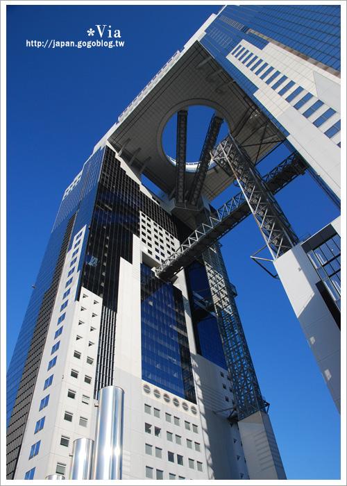 【大阪自由行】跟著via遊大阪~大阪梅田空中庭園展望台8