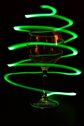painting with light glass. Wine Glass Originally uploaded