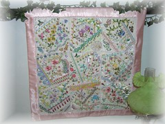 Floral Crazy Quilt Finished 2
