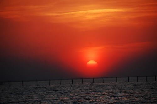 camp: sunset