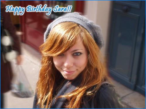 Sara B-Day