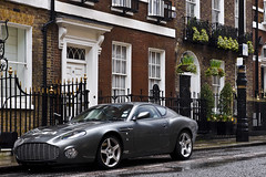 Aston Martin DB7 Zagato Nr. 60 (Murphy Photography) Tags: green london canon eos martin nr 60 aston vantage rar londen zagato db7 50d