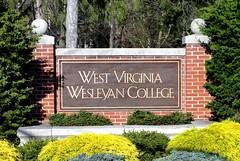 West Virginia ~ Buckhannon (e r j k . a m e r j k a) Tags: signs campus westvirginia marker upshur us33 buckhannon us119 wesleyancollege wv20 erjkprunczyk