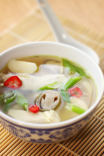 Chinese-Style Hot and Sour Chicken Soup