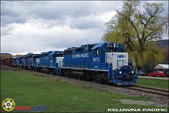 Kelowna Pacific Railway (BCOL CCCP) Tags: beautiful bc pacific railway columbia line short british kamloops kelowna vernon cccp gp382 shortline kpr bcol gmtx