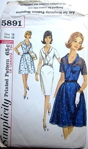Vintage Simplicity 5891