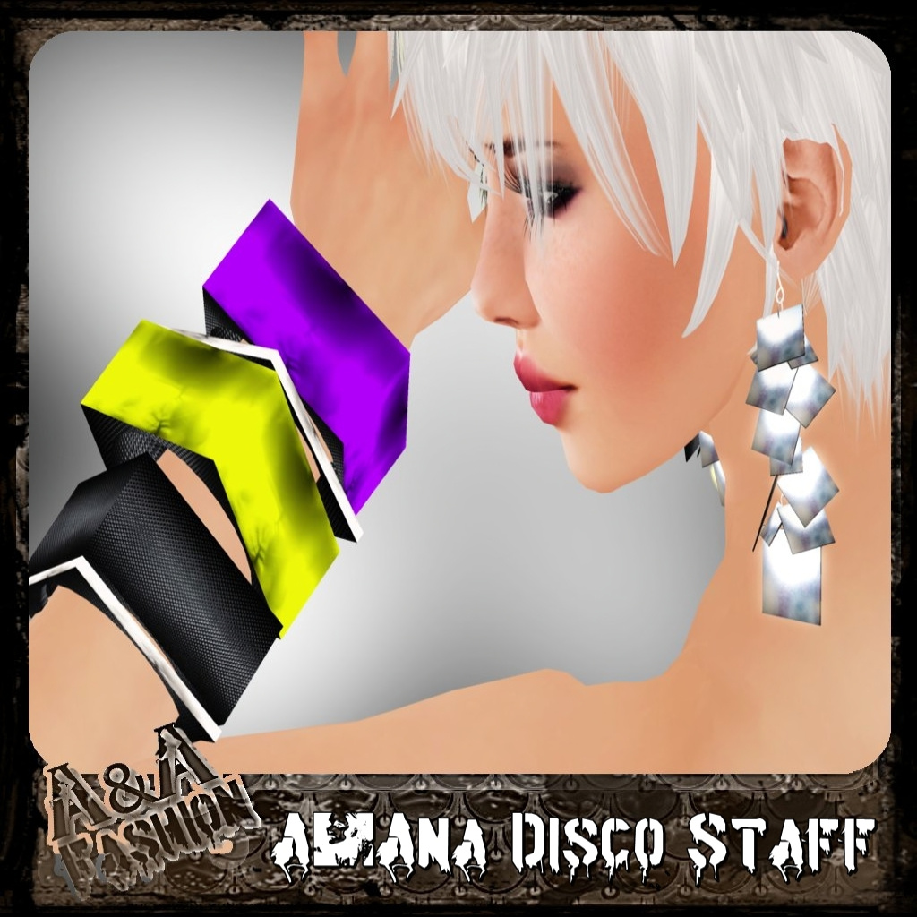 A&Ana Disco Staff Earrings & Bracelet [coming soon]