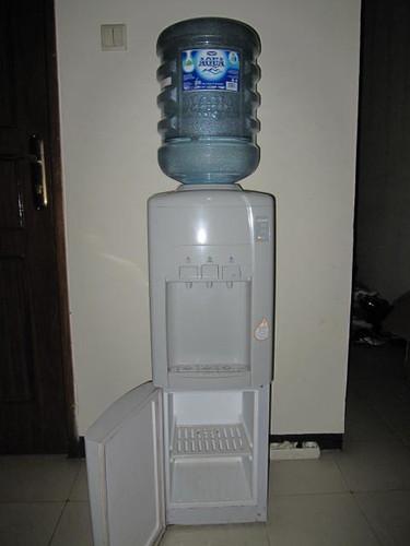 Modena Hot / Cold Water Dispenser w/ Mini Refrigerator
