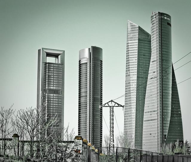 Grattacieli Cuatro Torres - Madrid