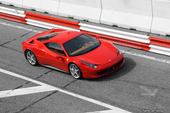 Ferrari 458 Italia (Niels de Jong) Tags: new red bw white black color canon eos track italia zwartwit gray sigma ferrari racing polarizer 18200 zandvoort circular selective ferarri pol fcn zw 458 cpz polarisatiefilter circuitparkzandvoort f458 nielsdejong 1000d ferrariclubnederland ndjmedia