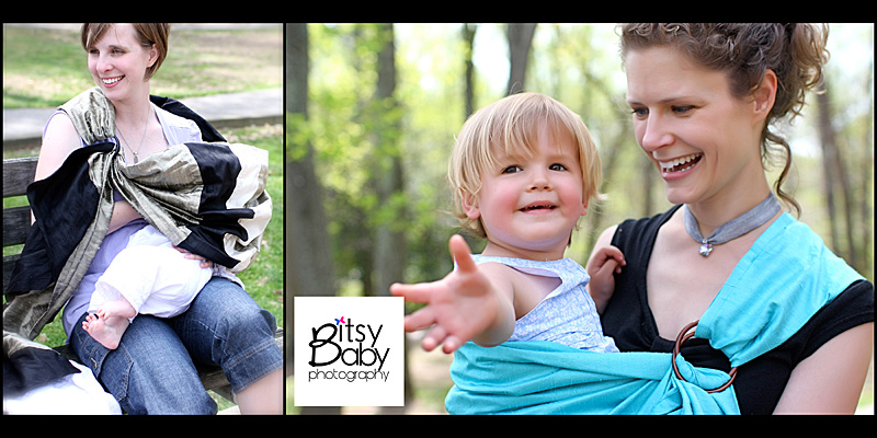 Dupioni silk baby carriers & nursing covers