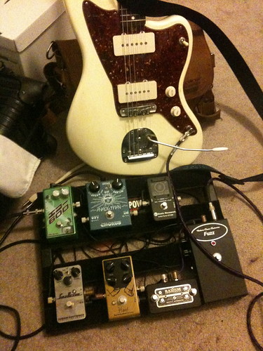 paulschieffer Jazzmaster and effects