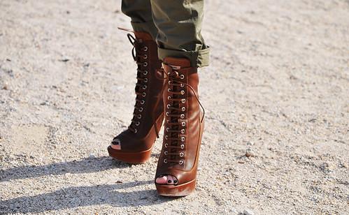 miu miu peep toe boots 2010