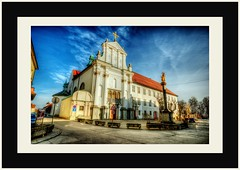 Church of Sts Peter and Paul (Uros P.hotography) Tags: road park old trip travel sky cloud tourism church beautiful st architecture clouds paul town amazing nice nikon perfect tour view superb path unique awesome sigma grand tourist peter monastery slovenia journey frame stunning excellent minorite slovenija lovely incredible 1020 hdr breathtaking ptuj d300 photomatix petovia slod300