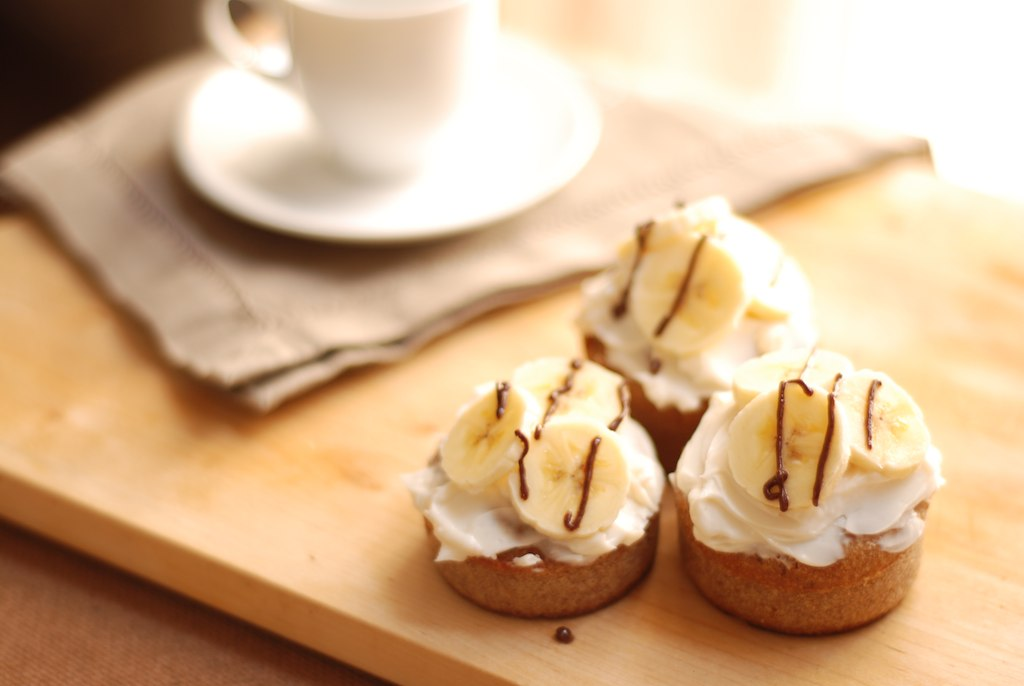 Cupcakes Bannana