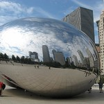 "Millenium Park Bean Sculpture<a href=""//farm5.static.flickr.com/4012/4544282550_a18ba032dd_o.jpg"" title=""High res"">&prop;</a>"