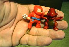 My closest advisors (Tojosan) Tags: selfportrait canon is dragon hand ninja powershot pokemon 365 friday day113 take3 tojosan advisors toddjordan sd780 toddrjordan
