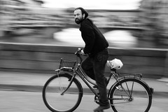 Panned (guido.masi) Tags: street blackandwhite bw white black bike canon photography eos florence streetphotography masi bn firenze panning bianco nero guido biancoenero colorphotoaward guidomasi