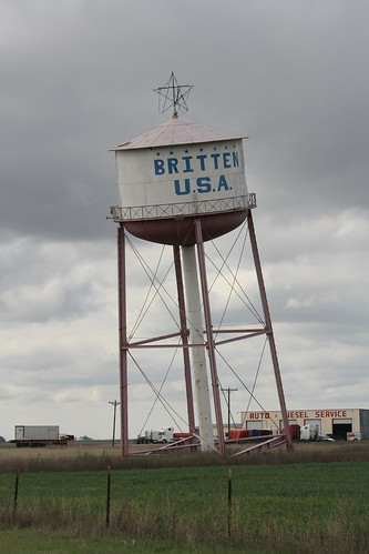 Leaning (Water) Tower of Texas