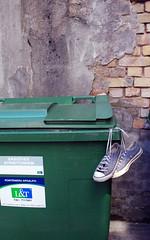 so long, sunday. (kleine_moewe) Tags: dumpster farewell converse 365 chucks chucktaylors woeisme solong postsovietcrumbly
