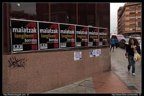 LAB - Maiatzak 1 por Soniko.