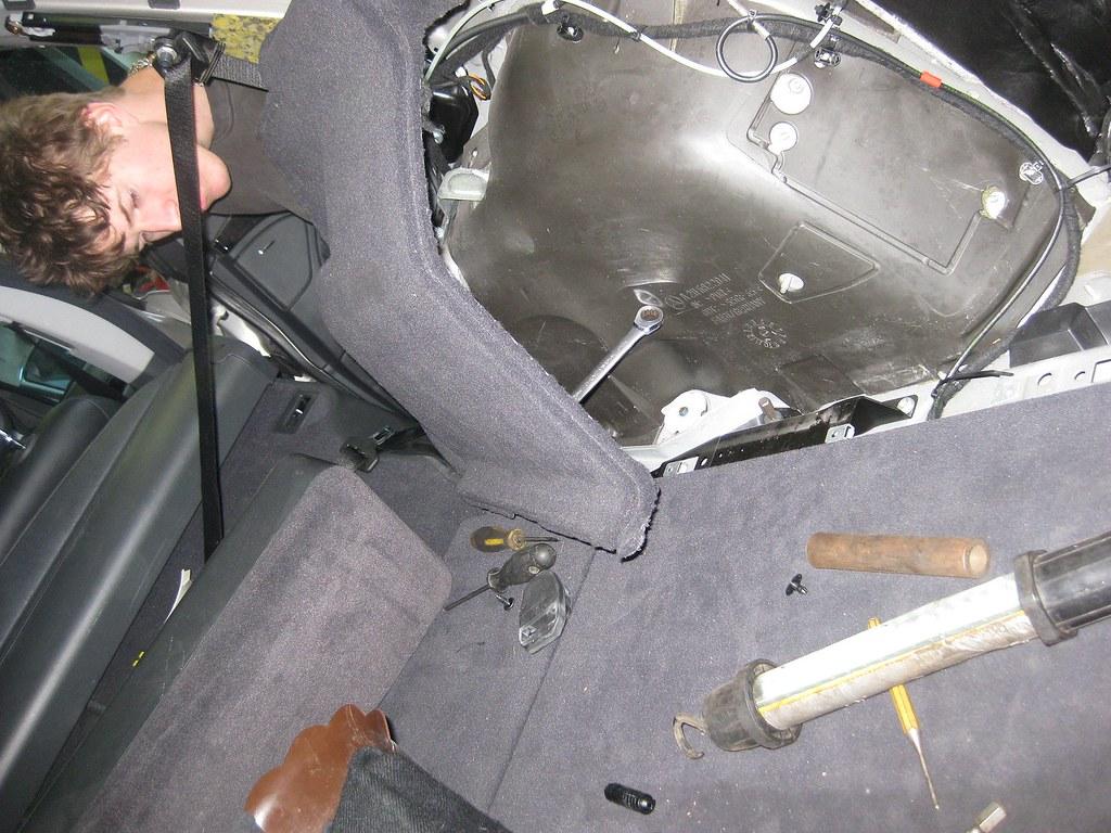 Air Tool Under Car Seats