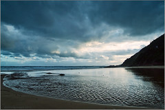 Approaching Storm (aumbody images) Tags: light sea sky storm beach nature water weather clouds river landscape mood seasons australia victoria greatoceanroad lorne cumberlandriver rivermouth supershot aumbodyimages platinumphoto diamondclassphotographer flickrdiamond thepinnaclehof thegraetoceanroad tphofweek44