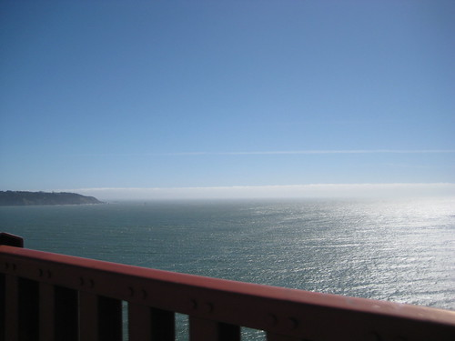 Pacific Ocean from GGB