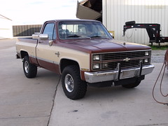 012 (stevenbr549) Tags: 2 two brown chevrolet truck 4x4 tan 4wd chevy silverado tone k10