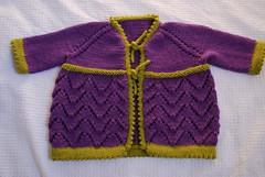 Helena (Valeria Ferreira Garcia) Tags: baby sweater knitting lace beb helena cardigan knitty tric renda picot suter cardig