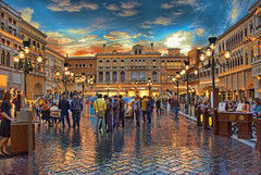 Venice Vegas Style :) (Fadi Asmar ^AKA^ Piax) Tags: life travel vacation sky usa holiday gambling water beautiful night star hotel nice lasvegas five nevada restaurants artificial reception paving features luxury casion cafes thevenetian torurism piax