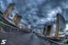Rainy day (A.G. Photographe) Tags: paris france nikon bnf ag nikkor français hdr parisian bibliothèquenationaledefrance anto photographe xiii parisien 16mmfisheye d700 antoxiii hdr7raw agphotographe