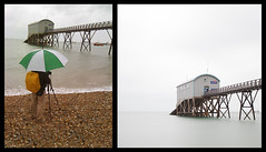 the ugly truth :D (zaneone) Tags: england seascape rain selsey werk zaneone