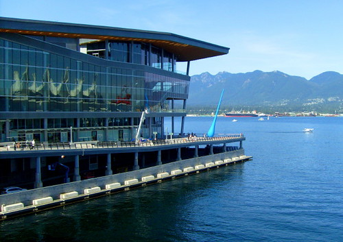 The new Vancouver Convention Centre was built to host the International press during the 2010 Olympics