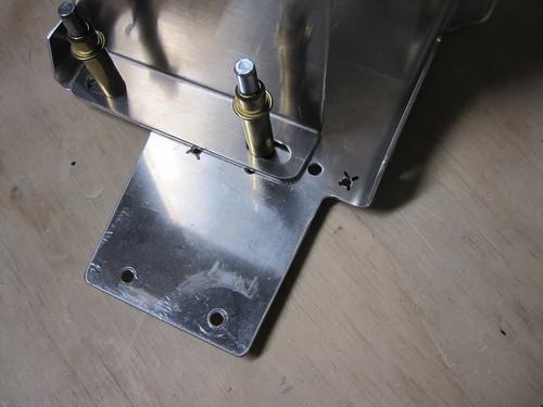 Battery Tray Forward Tab