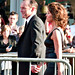 Clark Gregg and Jennifer Grey, Iron Man 2 Premiere