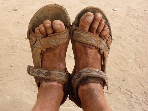 African feet