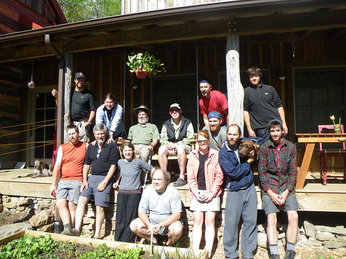 Group Shot @ Woods Hole Hostel