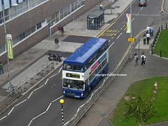 3118 from above (MCW1987) Tags: street travel 10 cox coventry metrobus mcw 3118 mk2a g118fjw