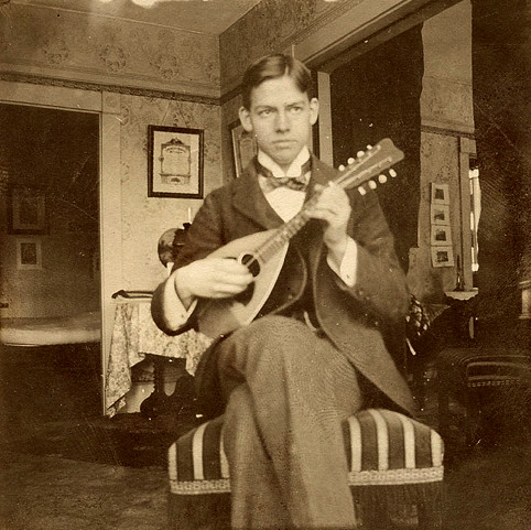 Man with Mandolin
