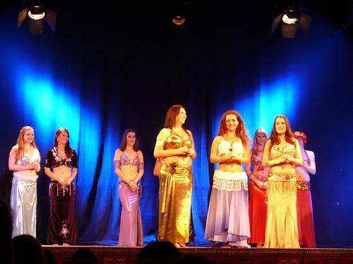 Siegerehrung Nachwuchswettbewerb orientalischer Tanz