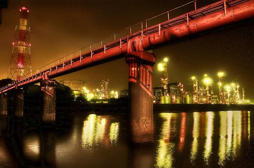 Yokkaichi city Night View 13 / HDR