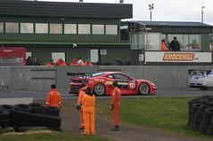 Chad Racing Ferrari Scuderia (James Simison) Tags: car race canon scotland track canon300d automotive racing circuit knockhill