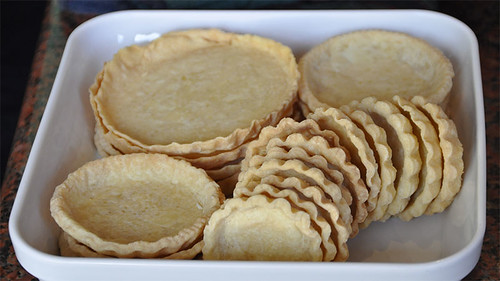 Savoury tart shells