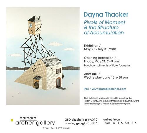 Dayna Thacker at Barbara Archer