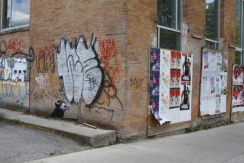 Banksy Toronto Chinatown
