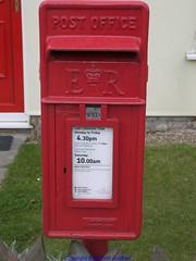 Chilham - Shottenden - Post Box (Faversham 2009) Tags: kent village post box lion pole royalmail kirkintilloch chilham shottenden