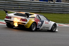 BMW M1 - Michael McInerney (Richard Crawford Photography) Tags: auto classic cars car sport race racecar speed canon fire eos classiccar automobile m1 flames fast sigma automotive racing historic flame prototype bmw gt quick spa supercar motorracing motorsport raci