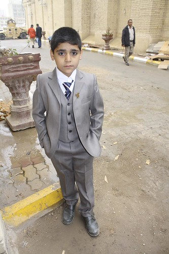 Boy in Iraq