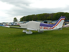 G-MALA (QSY on-route) Tags: kemble egbp gvfwe greatvintageflyingweekend 09052010 gmala